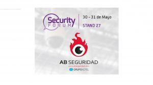 AB Seguridad presente en Security Forum