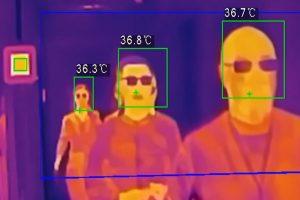 Cámaras fijas y móviles para la detección de fiebre