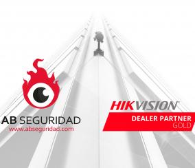 AB Seguridad es integrador y Gold Partner del fabricante de soluciones de seguridad Hikvision.