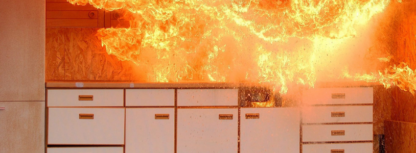Las viviendas también necesitan protección contra incendio.