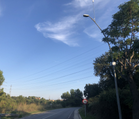 Control de acceso de vehículos en la población de Sant Climent de Llobregat